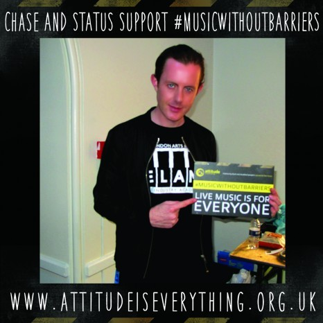 #MusicWithoutBarriers Supporters